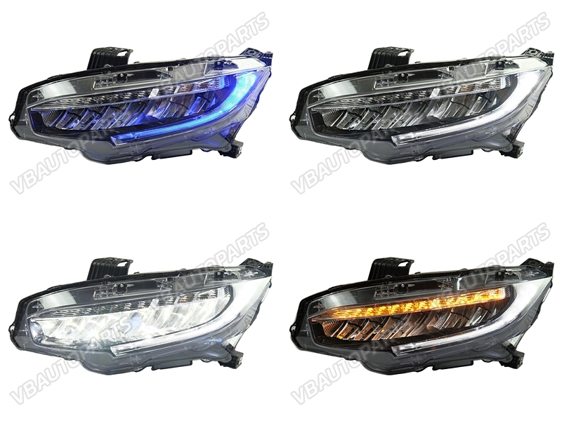 ไฟหน้า LED HONDA CIVIC FC FK RS