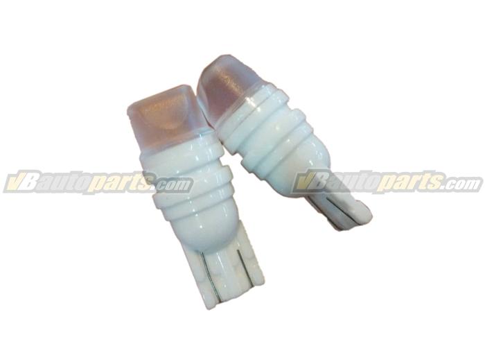 หลอดไฟ LED ขั้ว T10 แสง Ice Blue บอดี้เซรามิก