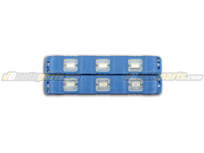 แผงไฟ LED 3 จุด สำหรับ DIY แสงสีน้ำเงิน