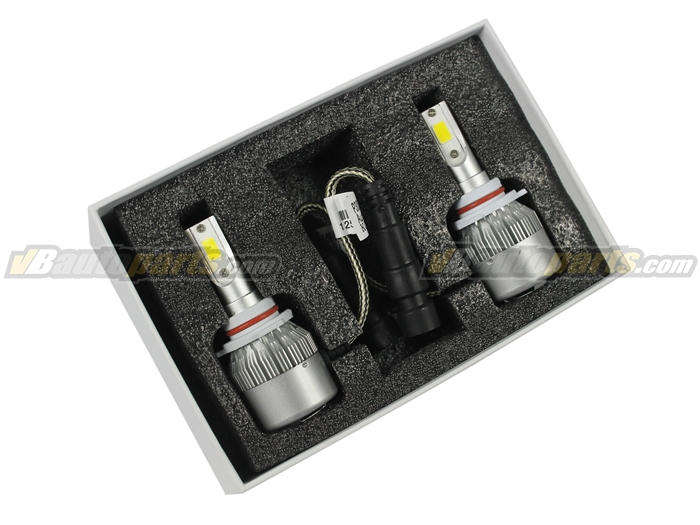 หลอดไฟ LED C6 ขั้ว 9006