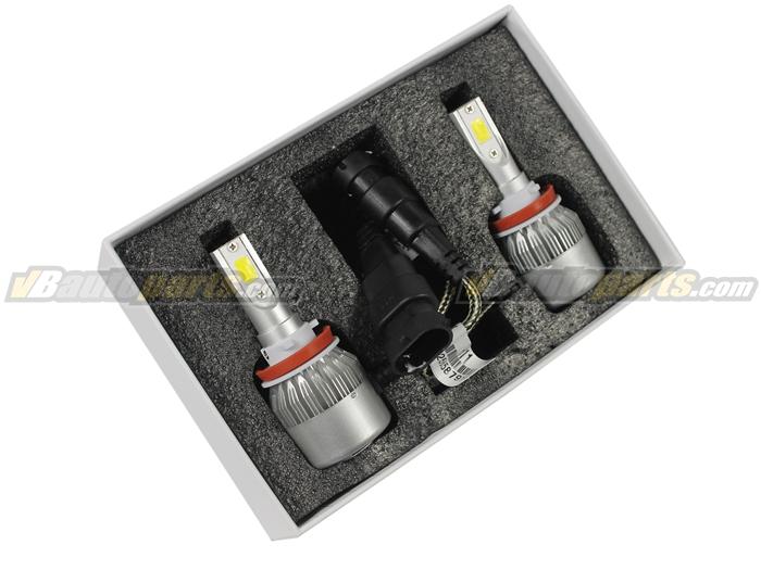 หลอดไฟ LED C6 ขั้ว H11