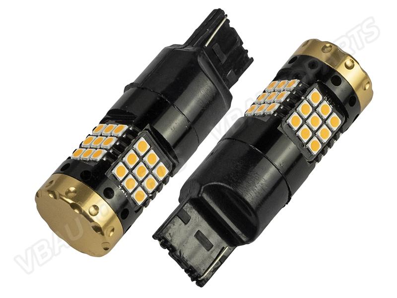 หลอดไฟ T20 CAN BUS LED 36/7440(ORANGE)