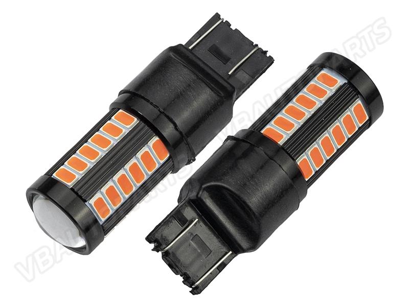 หลอดไฟ T20/5W LED 33 BK 7443(RED)