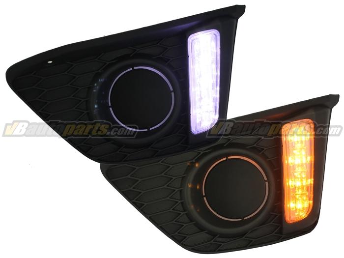 DayLight LED Honda Jazz GK (รวมหน้ากาก)
