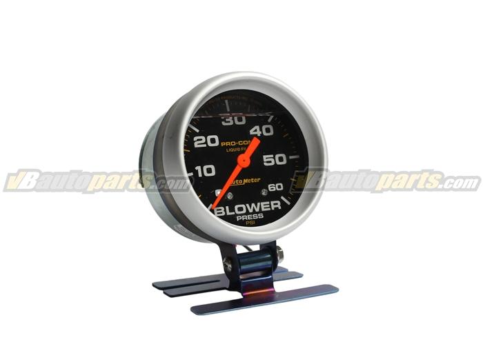 วัดบูส Autometer Blower 60 PSI (หน้าดำ)