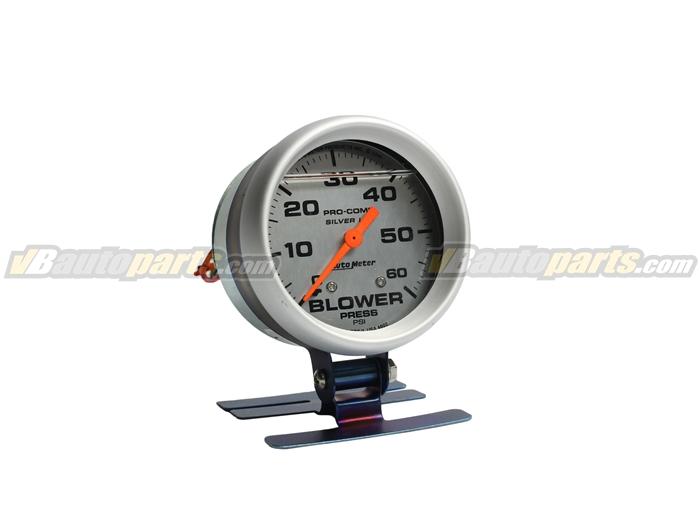 วัดบูส Autometer Blower 60 PSI (หน้าขาว)