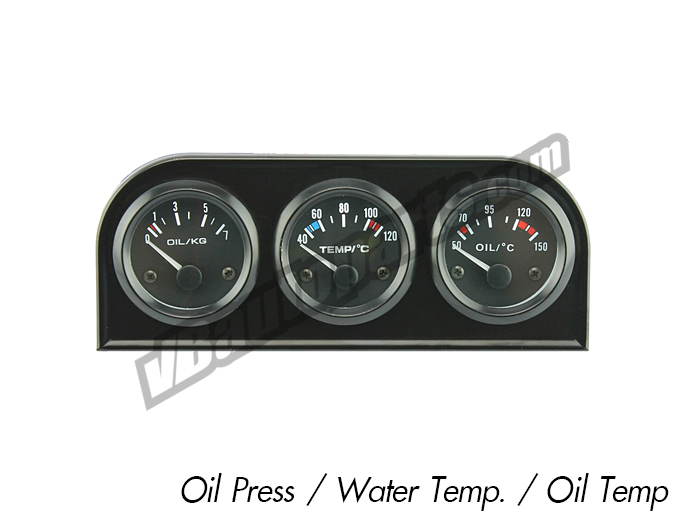 Din เกจ 52mm. (Oilpress/Oil Temp/Water Temp)