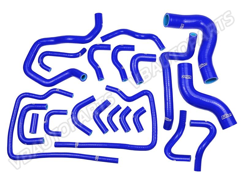 ท่อน้ำ BILLION ของ Subaru GC8 EJ20 ชุด 21 ชิ้น สีน้ำเงิน