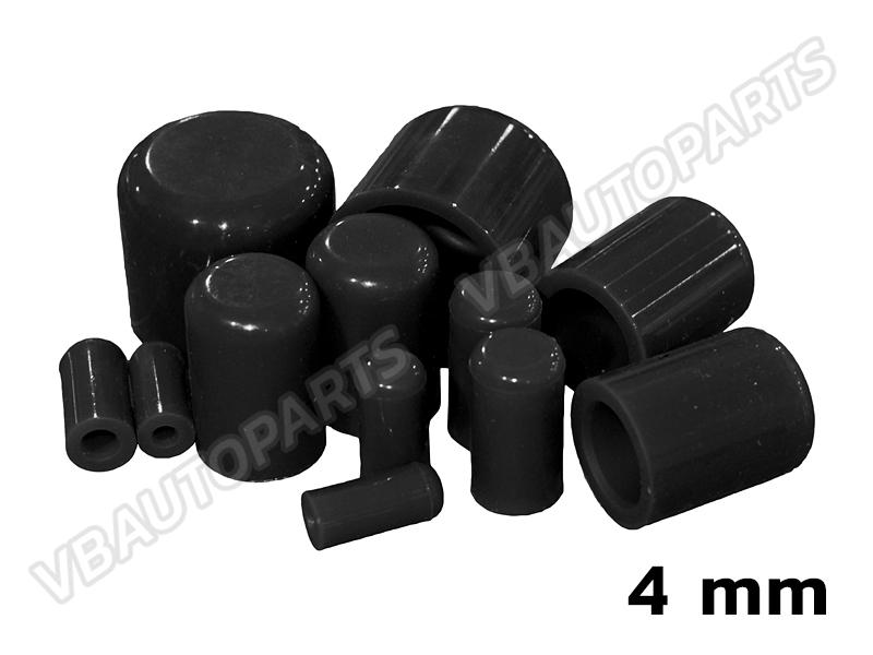 ตัวอุดตาน้ำซิลิโคน(4mm-BLACK)