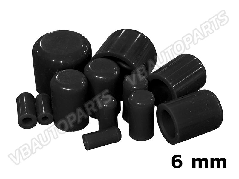 ตัวอุดตาน้ำซิลิโคน(6mm-BLACK)