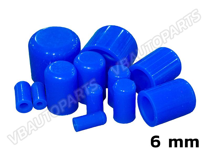 ตัวอุดตาน้ำซิลิโคน(6mm-BLUE)