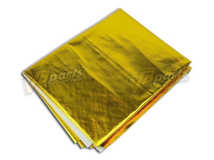 ฉนวนแผ่นฟอยล์กันความร้อน 39x47 In (แบบมีกาว)(GOLD)