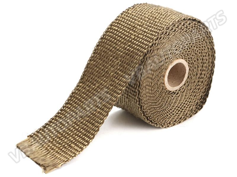 ผ้าพันท่อไอเสีย Billion สีไทเท ยาว 15 เมตร