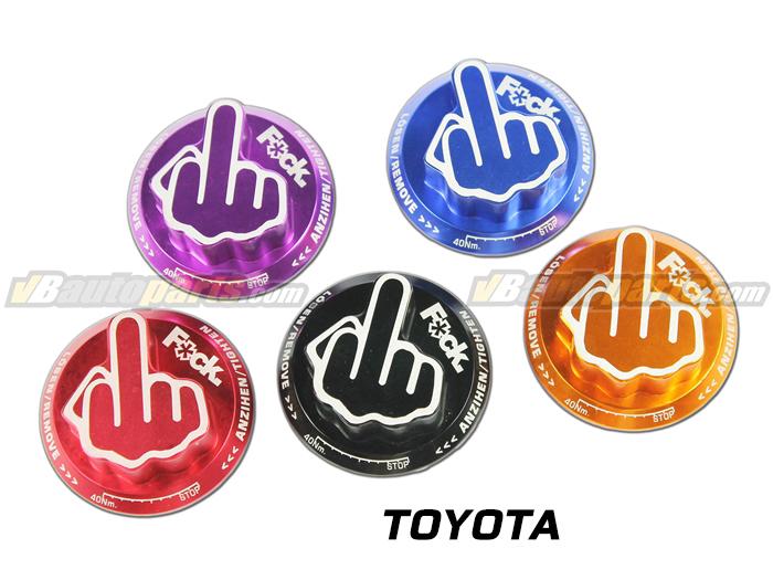ฝาน้ำมันเครื่อง F*ck - Toyota