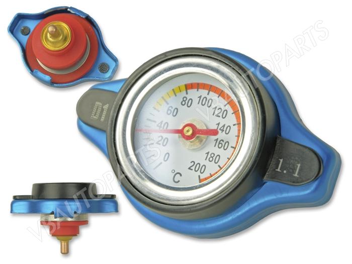 ฝาหม้อน้ำ D1Spec แบบมีวัดอุณภูมิ(1.1Bar)