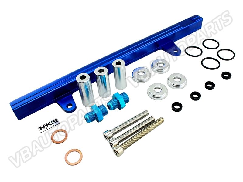 รางหัวฉีด HKS Nissan เครื่อง SR-20 (S13)(BLUE)