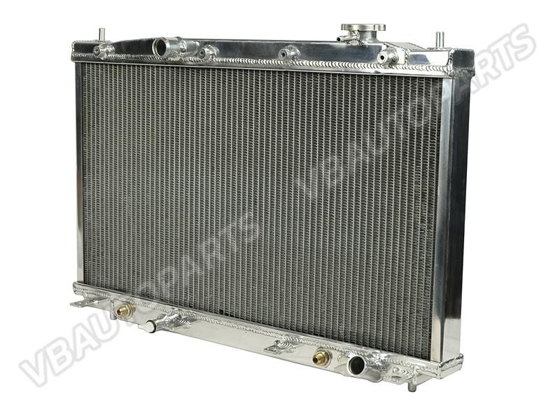 หม้อน้ำอลูมิเนียม 2 ช่องใหญ่ สำหรับ Honda Civic ES 2.0 (AT)