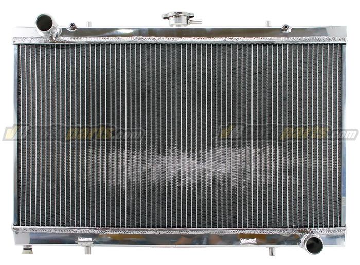 หม้อน้ำอลูมิเนียม 2 ช่องใหญ่ Nissan SR20-S13-S15 (MT)
