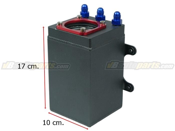 ถังน้ำมันแบบปั้มติก 044 ในถังแบบเดี่ยว 1 ลิตร Black(V2.)
