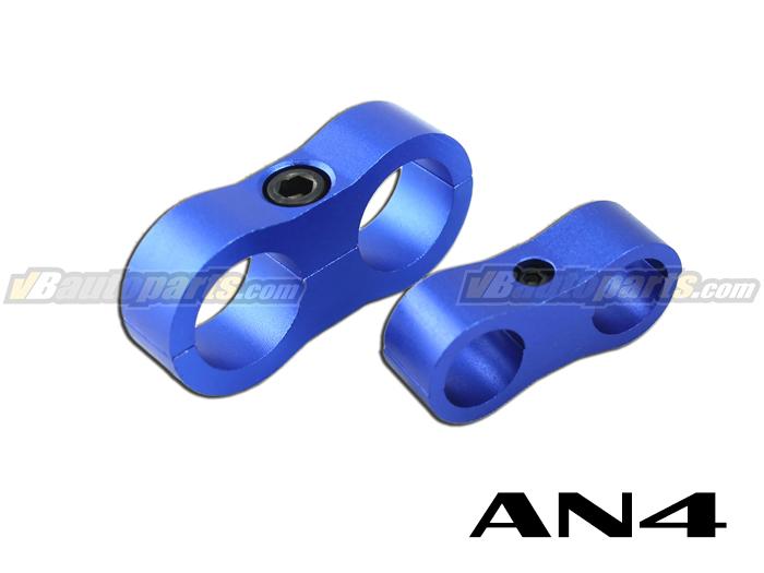 ล็อคสายน้ำมันสีน้ำเงิน ID 11.1mm. (AN4)