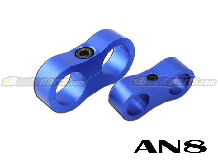 ล็อคสายน้ำมันสีน้ำเงิน ID 15.9mm. (AN8)