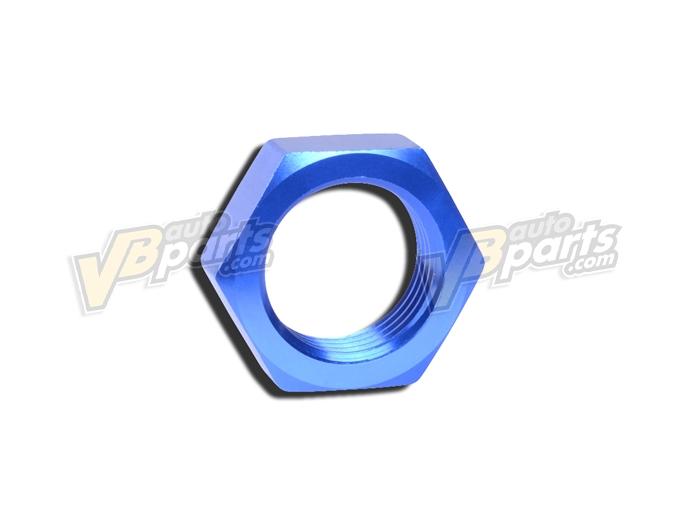AN Bulkhead Nut AN6 Blue (แหวน)