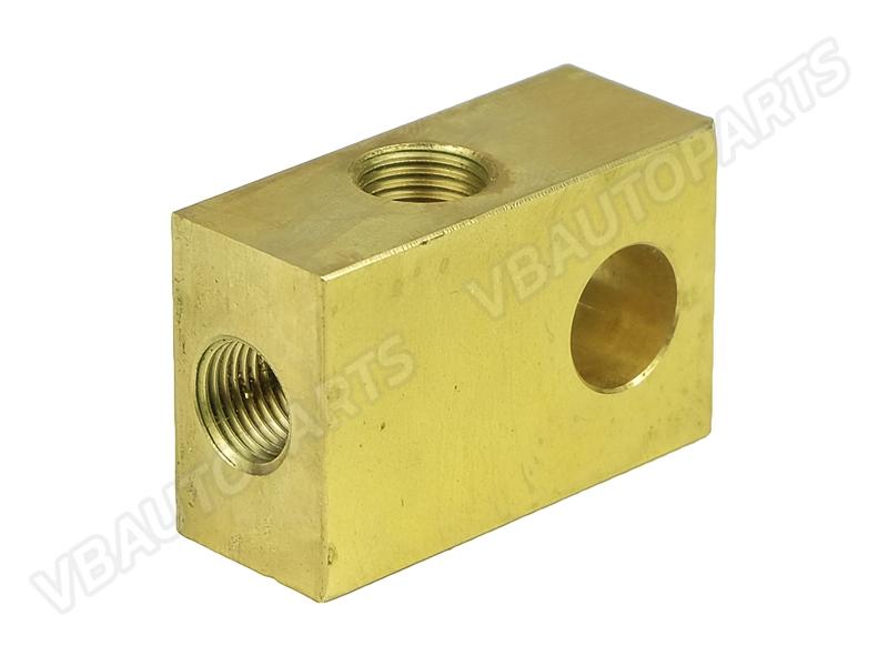 อแดปเตอร์ทองเหลืองสามทางเกลียว M10x1.0
