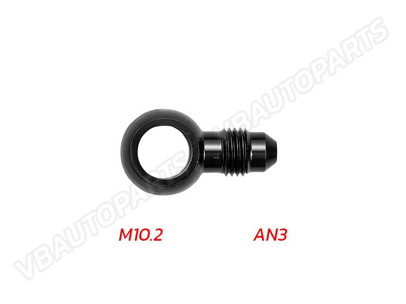 หัวบันโจขนาด M10.2 ออกเกลียว AN3-(BK)