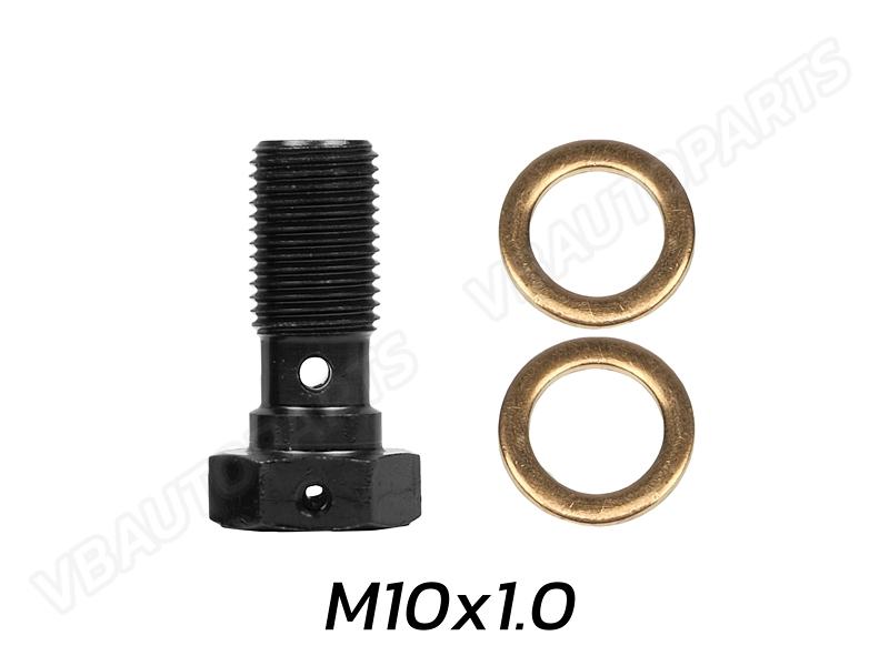 ตัวหนอนบันโจ(M10x1.0-BLACK)