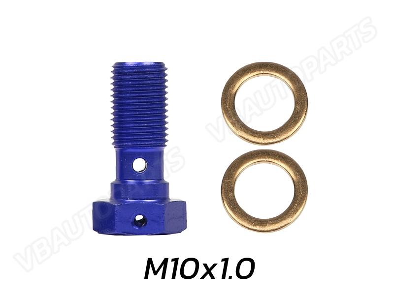 ตัวหนอนบันโจ(M10x1.0-BLUE)