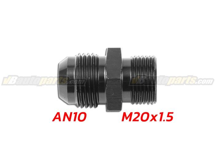 ข้อลดเกลียว (AN10 ออก M20X1.5)-(BK)