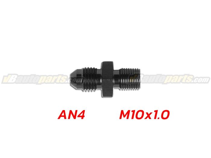 ข้อลดเกลียว (AN4 ออก M10X1.0)-(BK)