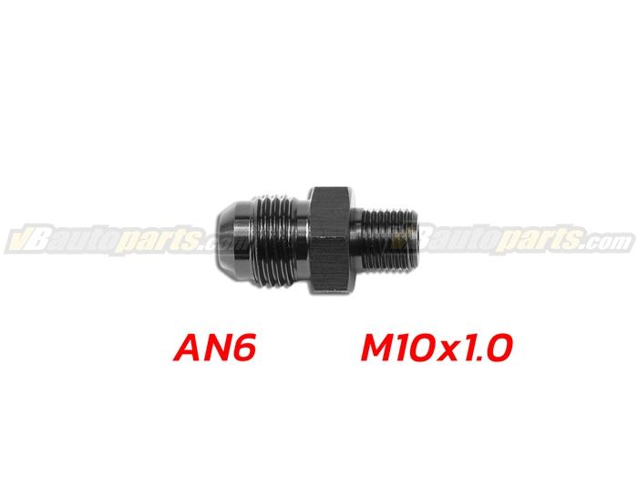 ข้อลดเกลียว (AN6 ออก M10X1.0)-(BK)