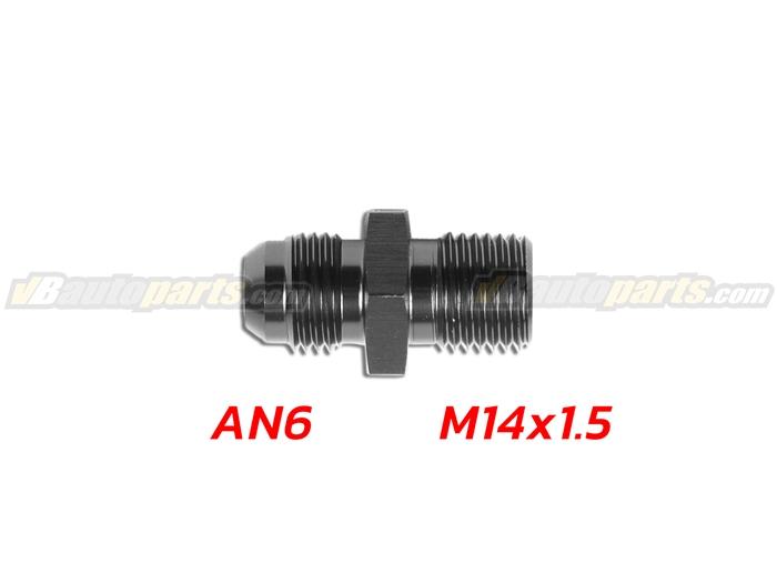 ข้อลดเกลียว (AN6 ออก M14X1.5)-(BK)