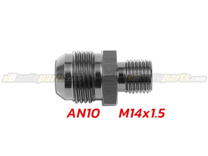 ข้อลดเกลียว (AN10 ออก M14X1.5)-(BK)