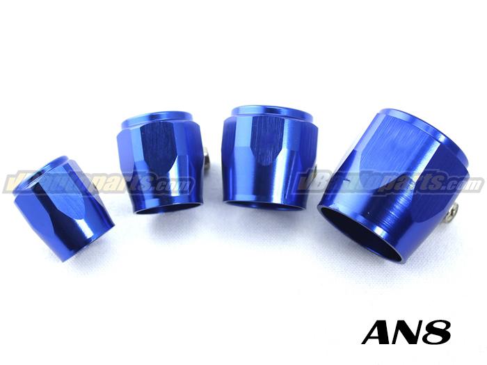 หัว HEX สีน้ำเงิน (AN8 - 3/8