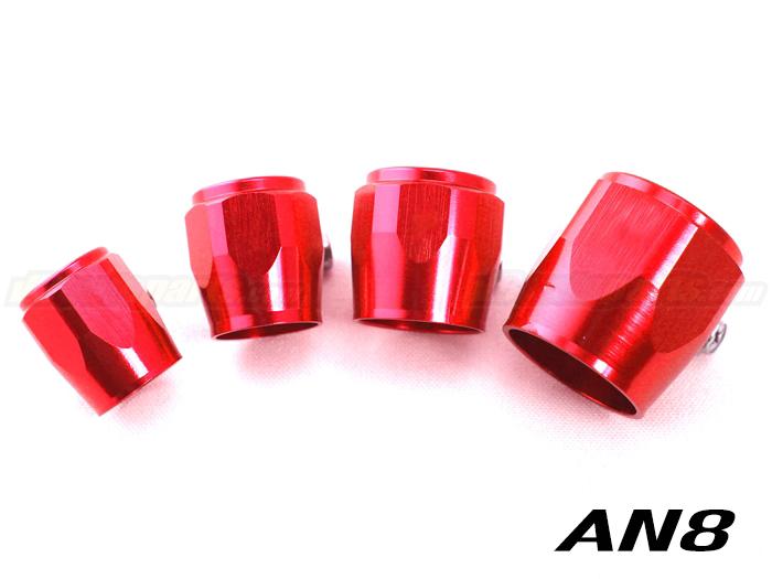 หัว HEX สีแดง (AN8 - 3/8