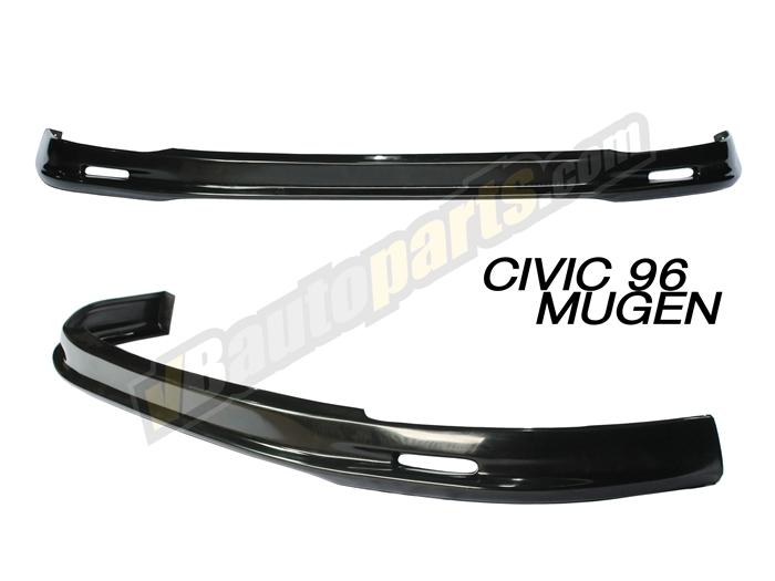 ลิ้นหน้า PVC สำหรับ Honda Civic 96 ทรง Mugen
