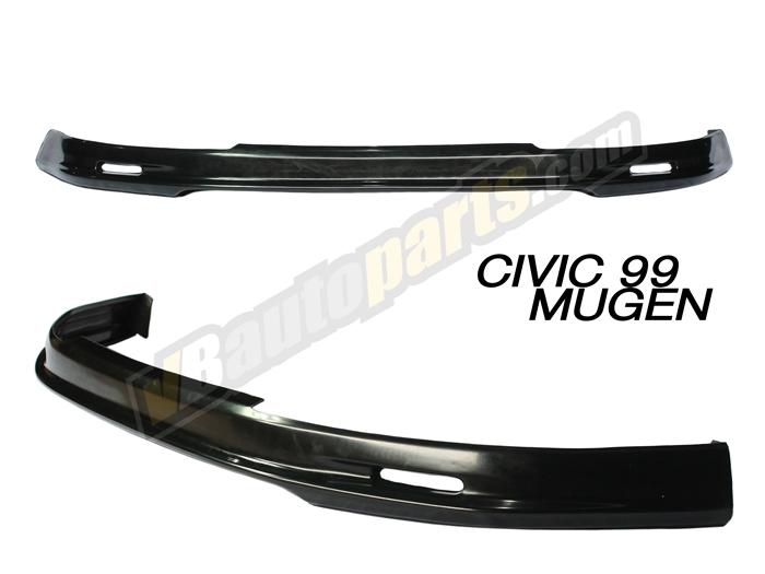 ลิ้นหน้า PVC สำหรับ Honda Civic 99 ทรง Mugen