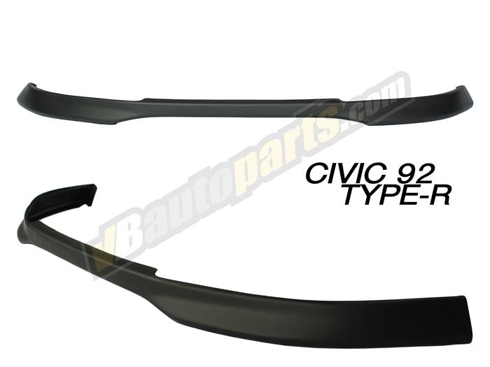 ลิ้นหน้า PVC สำหรับ Honda Civic 92 ทรง Type-R