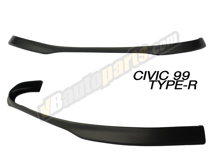 ลิ้นหน้า PVC สำหรับ Honda Civic 99 ทรง Type-R