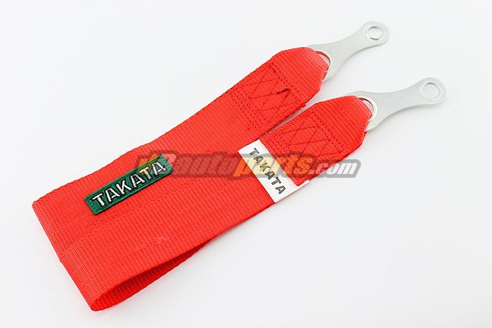 หูลากผ้า TAKATA สีแดง