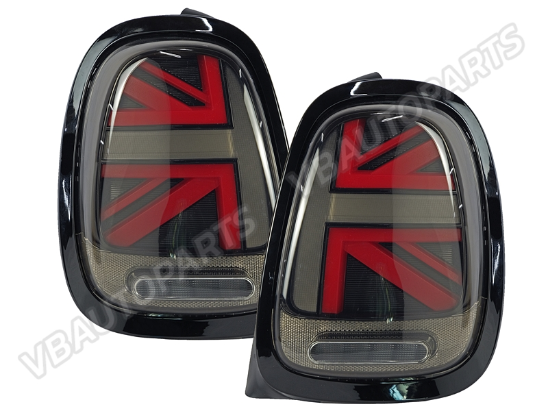 ไฟท้าย Mini Cooper F55/56/57 Union Jack (RED-BLACK)