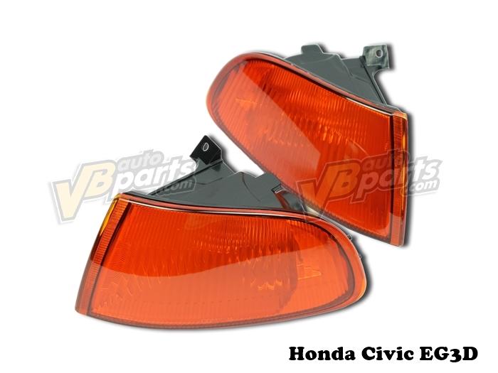 ไฟมุมส้ม Civic EG 92(3D)