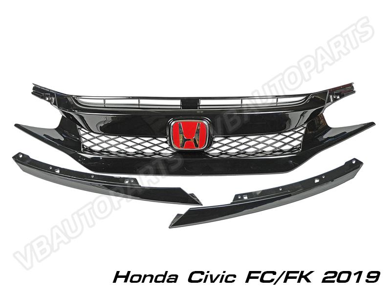 กระจังหน้า Civic FC FK Type-R(19)
