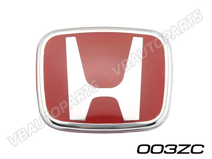 โลโก้ H แดง หน้า,หลังรถ รหัส 003ZC