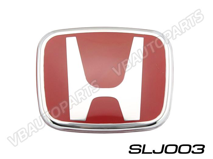 โลโก้ H แดง หน้า,หลังรถ รหัส SLJ003