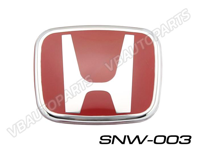 โลโก้ H แดง หน้า,หลังรถ รหัส SNW-003