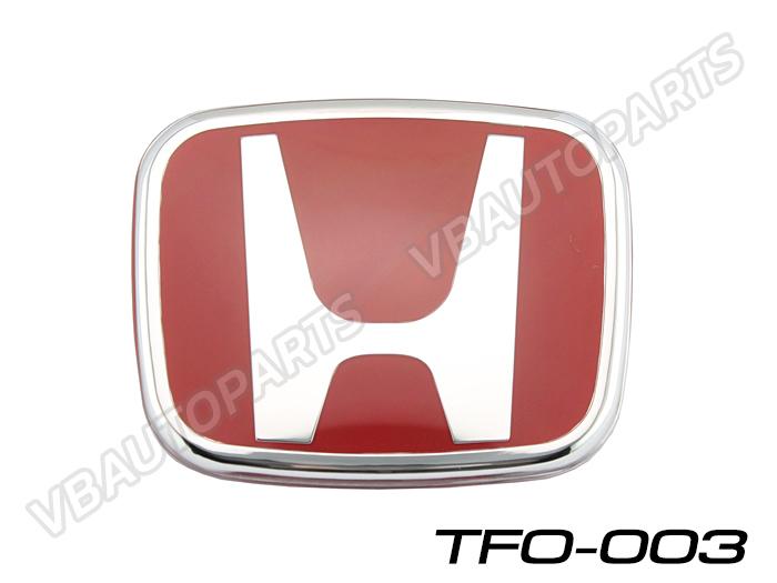 โลโก้ H แดง หน้า,หลังรถ รหัส TFO-003