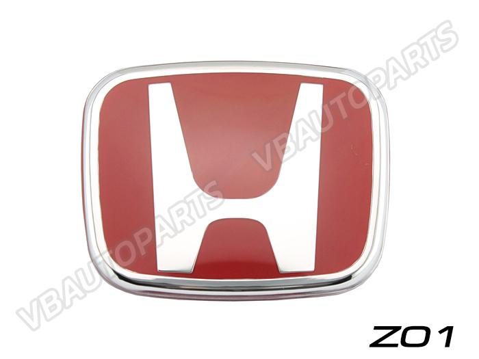 โลโก้ H แดง หน้า,หลังรถ รหัส Z01